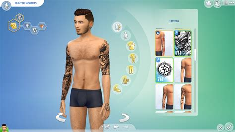my sims 4 blog labels my sims 4 blog artsy tattoo set by aduncan
