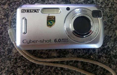 Kamera Digital Sony Dsc S600 c 226 mera digital sony cyber 6 0 megap 237 xels dsc s600 r 100 00 em mercado livre