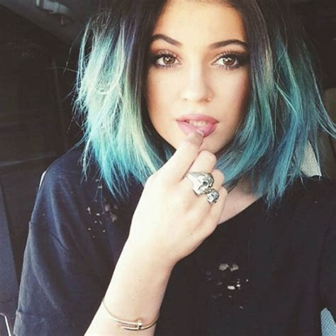 Dye Hairstyles by Pastel Dip Blue Hair Dye Hair Styles