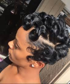 pin curl hair style for black 25 best ideas about pin curls on pinterest vintage