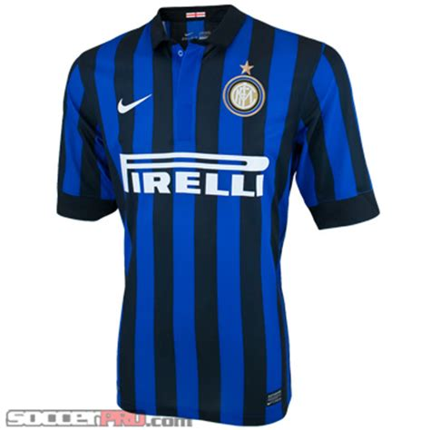 Jersey Inter Zig Zag by Nike Inter Milan 2011 2012 Home Jersey Review