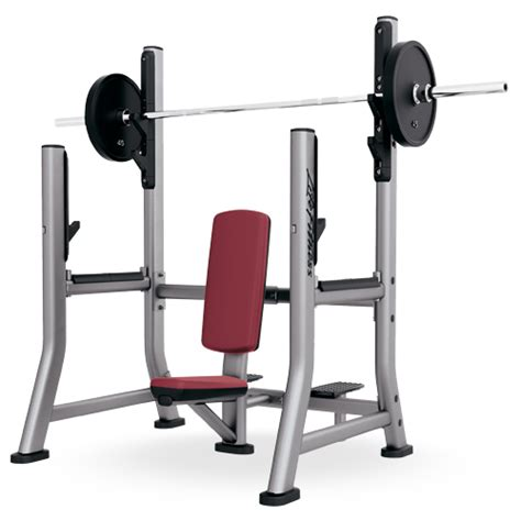lifefitness bench olympic military bench somb life fitness