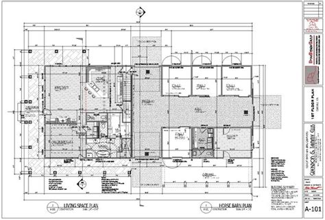 Plan home and barn layout 1st levelcopyrights dmaxdesigngroup com