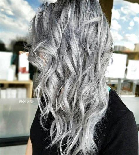 trendy grey hair 20 trendy gray hairstyles gray hair trend balayage