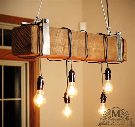 Handmade Lighting - 20 savvy handmade industrial decor ideas you can diy for