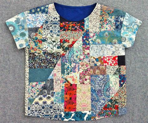 How To Make Patchwork Fabric - diy liberty patchwork top mad for fabric