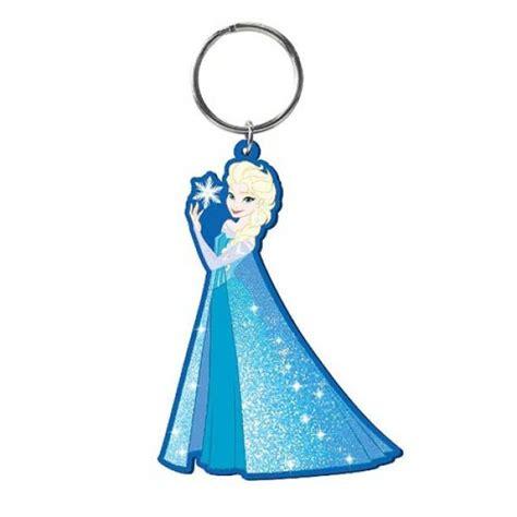 Ke 077 Keychain Elsa Frozen disney frozen snow elsa soft touch key chain