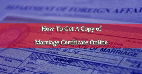 How To Obtain A Copy Of Your Criminal Record How To Request A Copy Of Your Marriage Certificate