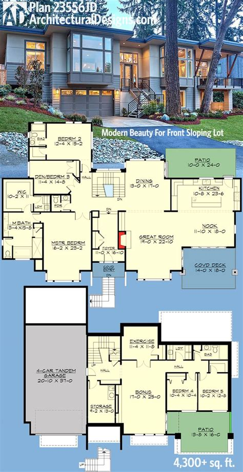 modern contemporary floor plans 25 best ideas about modern house plans on