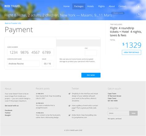 themeforest payment options red travel by andrerevin themeforest
