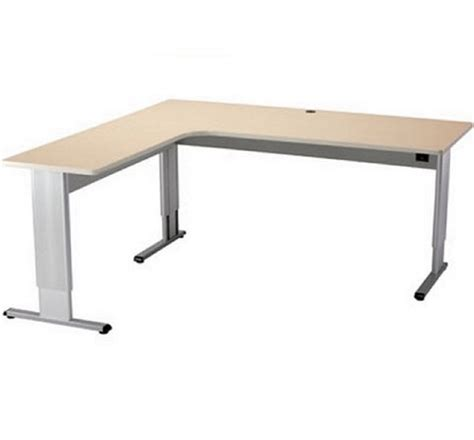 l shaped adjustable desk infinity adjustable l shaped desk free shipping