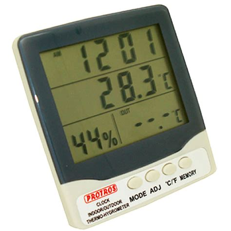 Digital Thermometer Model 303c Thermo Hygrometer 3 Parameter humidity อ ณหภ ม