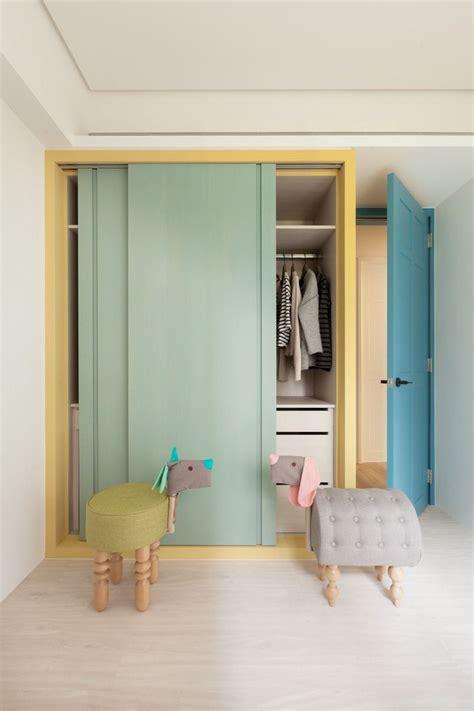 pastel colours sliding door wardrobe httpwww