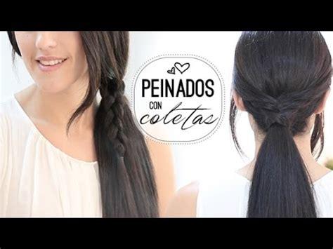 preguntas faciles y rapidas peinados con coletas f 225 ciles y r 225 pidas quot easy hairstyles