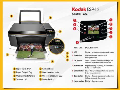 Printhead Printer kodak esp 3 2 wi fi all in one printer print copy scan