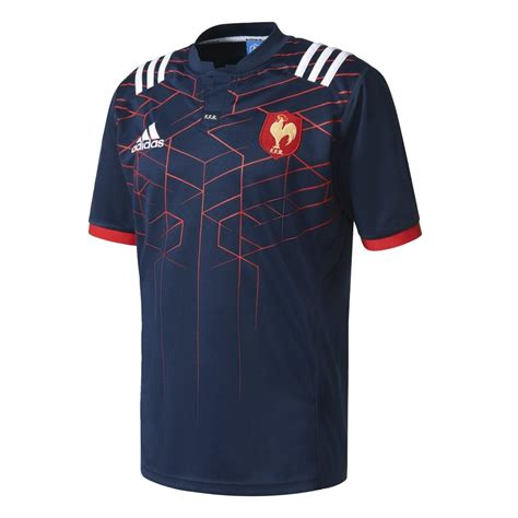 adidas france adidas france home rugby jersey in navy excell sports uk