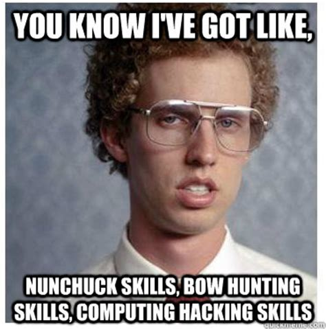 Bow Hunting Memes - you know i ve got like nunchuck skills bow hunting