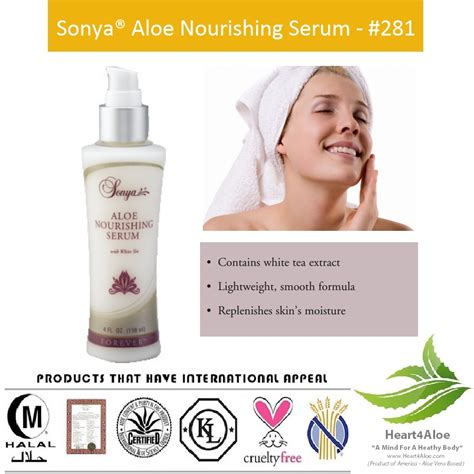 Serum Nourish Care sonya 174 aloe nourishing serum heart4aloe