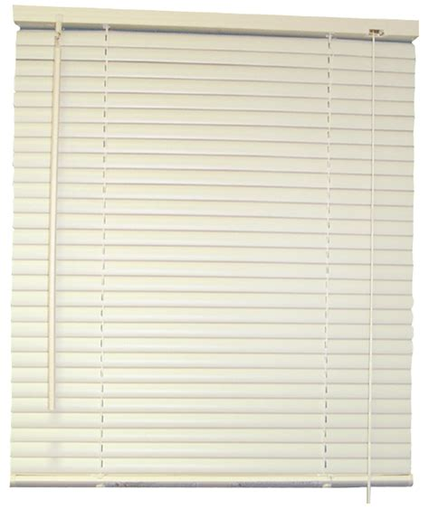 Wood Mini Blinds Designer S Touch 2 Inch Faux Wood Mini Blinds White