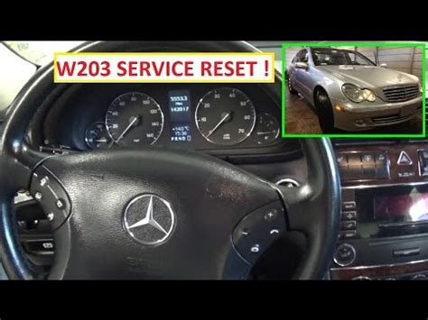 benzwerks c class radio removal mercedes c class w203 service light reset 2000 2007