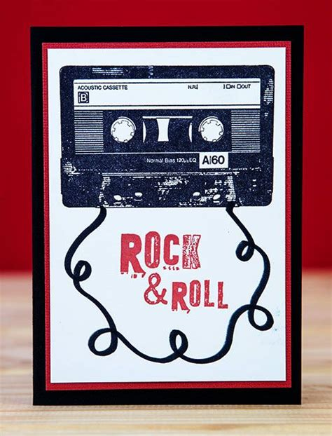 rockstar cassetta card by greig using darkroom door cassette