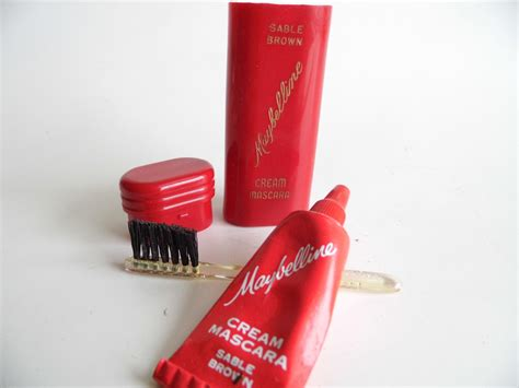 Mascara Maybelline Original vintage makeup maybelline mascara original