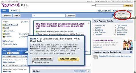 Kotak Belajar Baca membaca kotak masuk inbox dua akun email dalam sekali klik caanggo