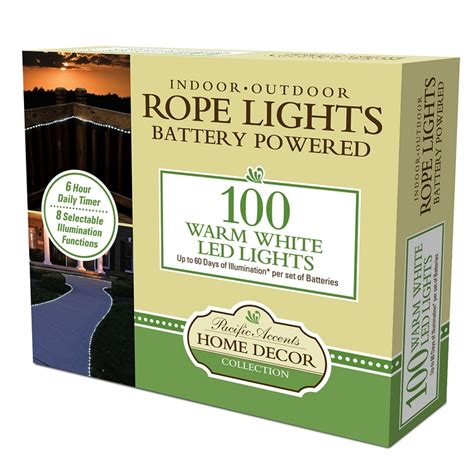 Battery Operated Rope Lights Wholesale Tube Lights Warm White Battery Lights Warm White