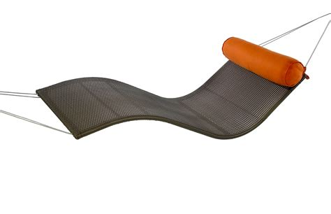 Wave Hammock outback chair rolls out the wave a boldly styled rattan hammock