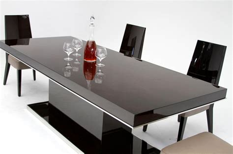 dreamfurniture noble modern lacquer dining table