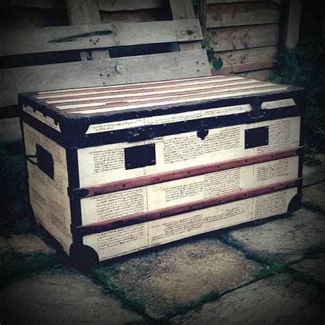 steamer trunk bench 1000 ideas about trunk coffee tables on pinterest
