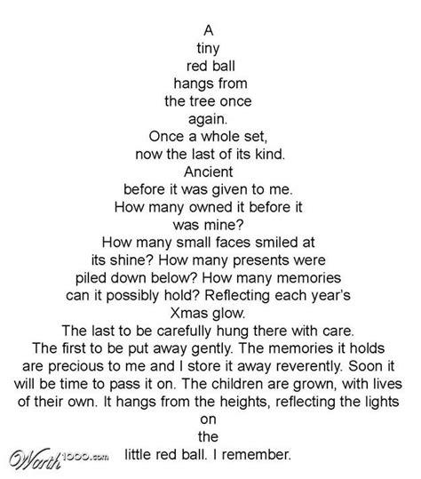 christmas tree poem tree poems happy holidays