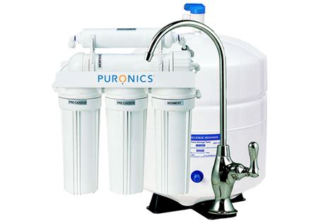 Filter Faucets Puronics 5 Stage Reverse Osmosis Drinking Water System