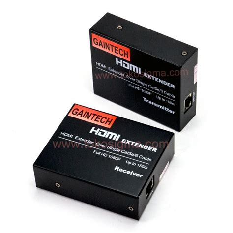 Hdmi Extender Netline hdmi extender single utp cat5e 6 up to 150m toko sigma