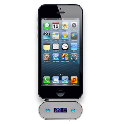 Lcd Iphone 5 3g By Ozi84 3 5mm car fm transmitter for iphone 3g lcd