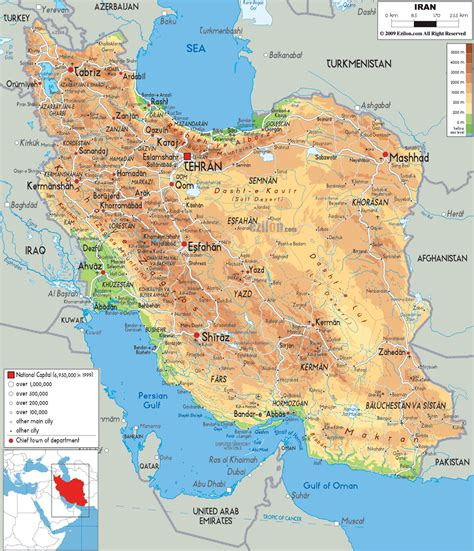 geographical map of iran iranian plateau physical map map pictures