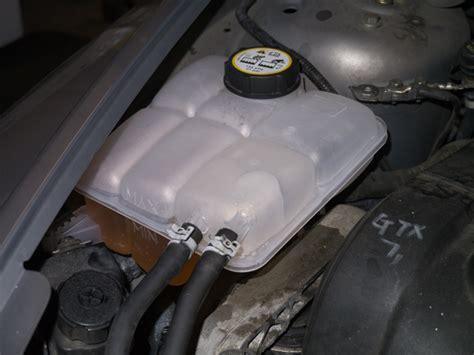 zen  volvo   maintenance coolant overflow resevoir replacement