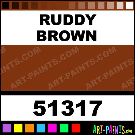 ruddy color ruddy brown indoor outdoor primer spray paints 51317
