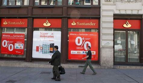 acciones banco santander hoy 191 comprar acciones banco santander espere a que