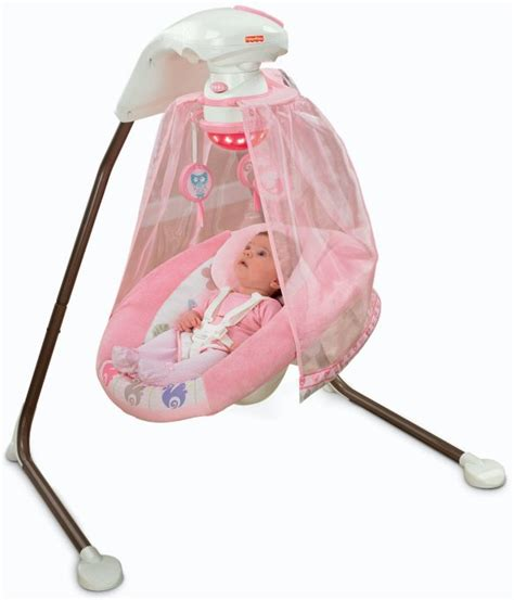 baby swing with music and lights fisher price tree party baby cradle swing w music
