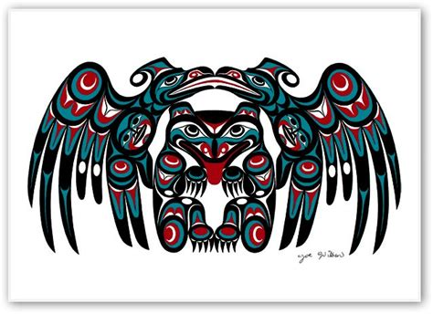 first nation tattoo artist vancouver joe wilson canadian first nation artist prints strong