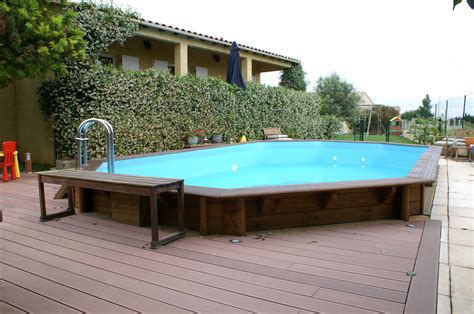 Amenagement Piscine Hors Sol 4057 by Construction Piscines Nimes Gepad Piscines Et Spa 30000