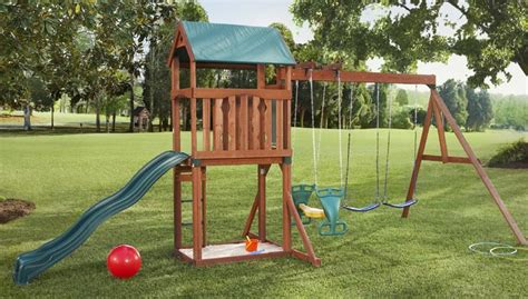 how to make swing at home outdoor playset guide