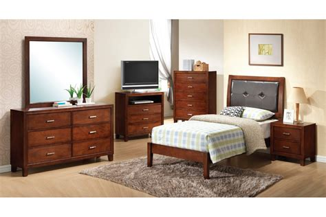 twin size bedroom furniture bedroom sets jett brown twin size bedroom set