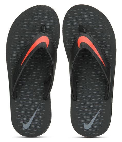 nike slippers pics nike chroma 5 black flip flop price in india