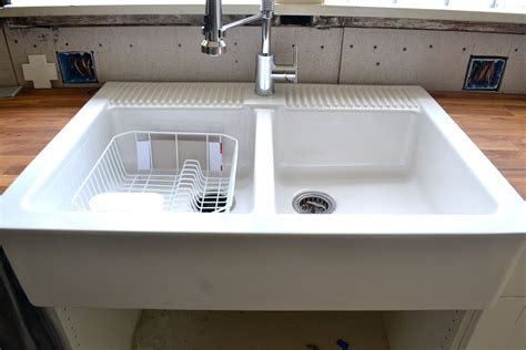 domsjo double bowl how to cleaning apron cdbossington interior design