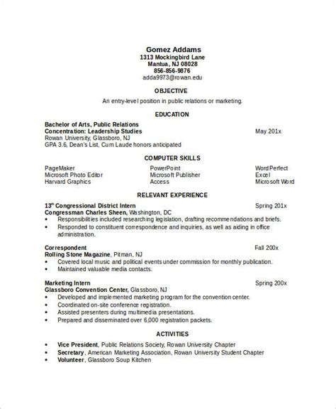 standard resume format for engineers doc resume in word template 24 free word pdf documents