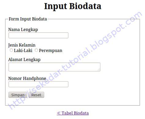 membuat textarea html cara input data dengan php dan mysql hanada setia blog