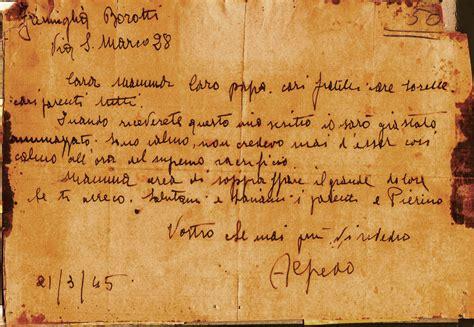 lettere partigiani di commercio piazza dei cavalli 35 lettere di