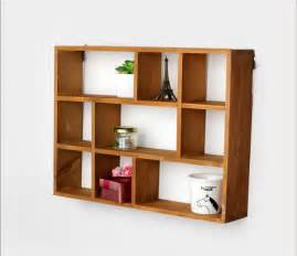 desktop storage shelves aliexpress buy hollow wooden wall shelf storage